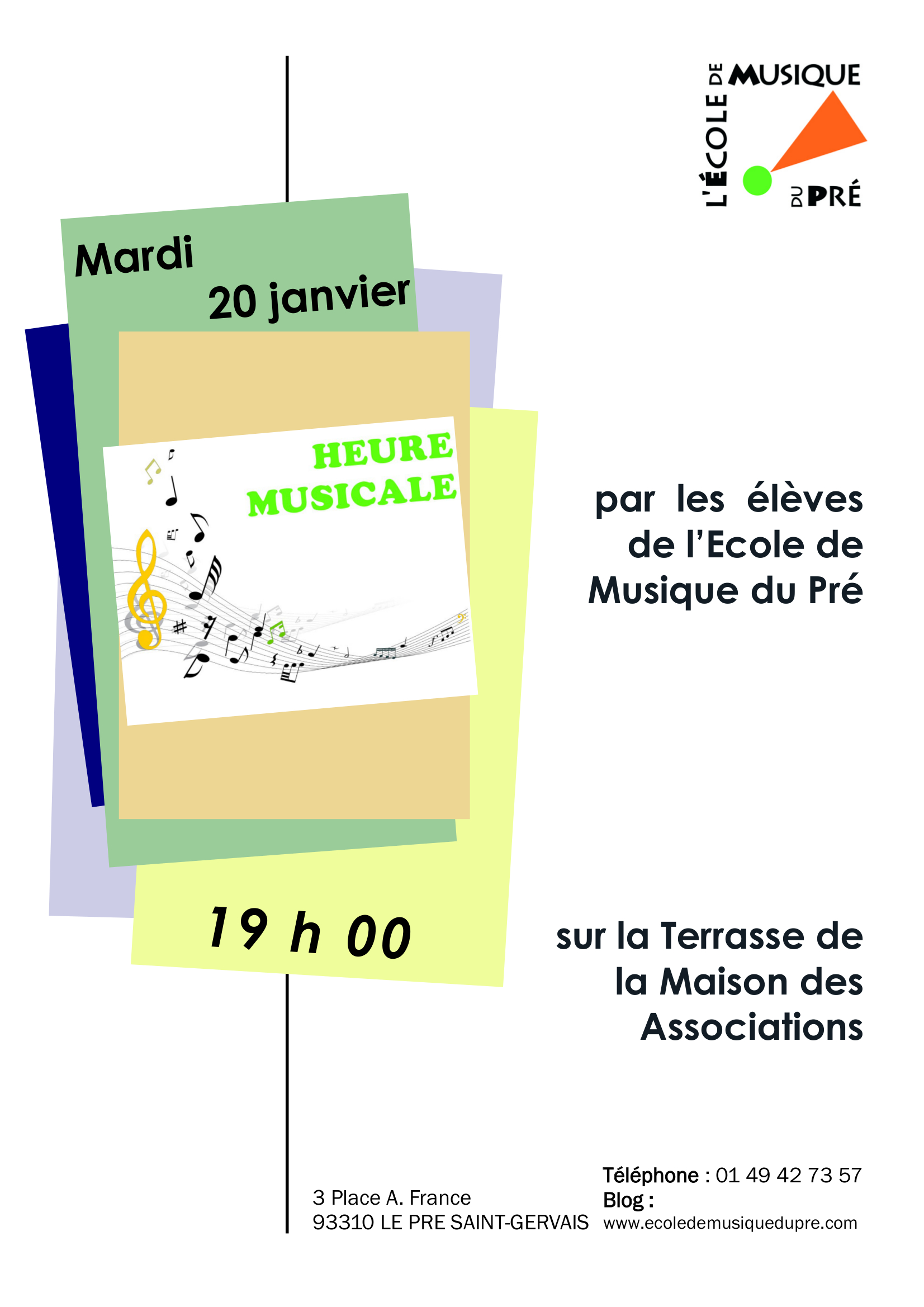 HEURE MUSICALE 20 JANVIER 2015